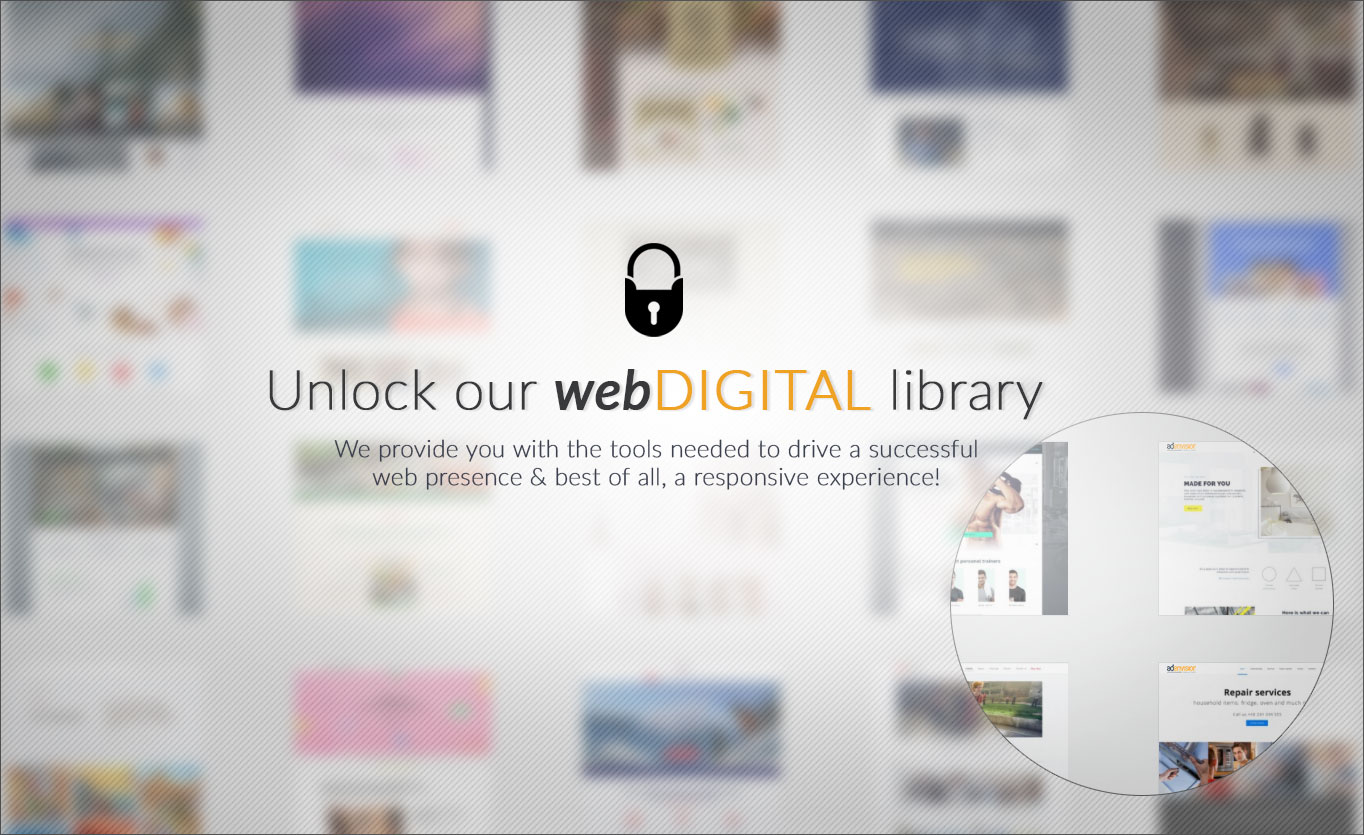 Adenvision websites library